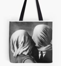The Lovers Magritte Tote Bag