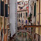 Canal - Venice - Italy by Yannik Hay