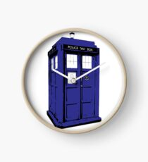 The Blue Box Clock