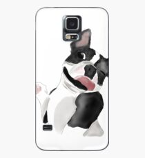 Happy Boston Terrier  Case/Skin for Samsung Galaxy