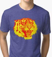 Circus Tiger Tri-blend T-Shirt
