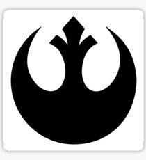 Rebel pattern Sticker