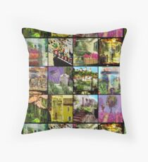 """An impression of  """"Le Provence"""" in the  South of France Floor Pillow"""