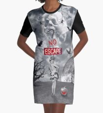 The Horror Show Graphic T-Shirt Dress