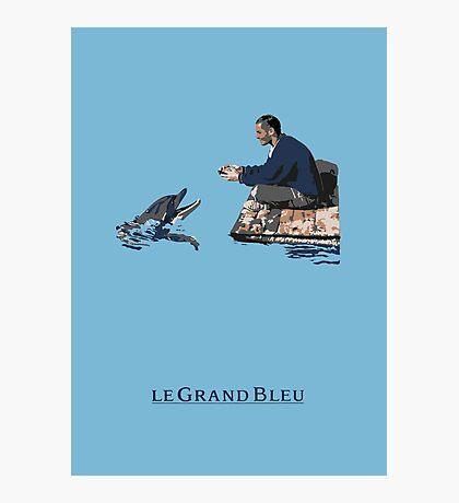 Le Grand Bleu Impression photo