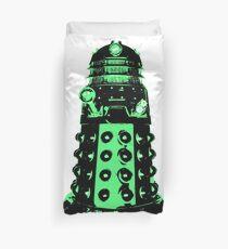 Dalek - Green Duvet Cover