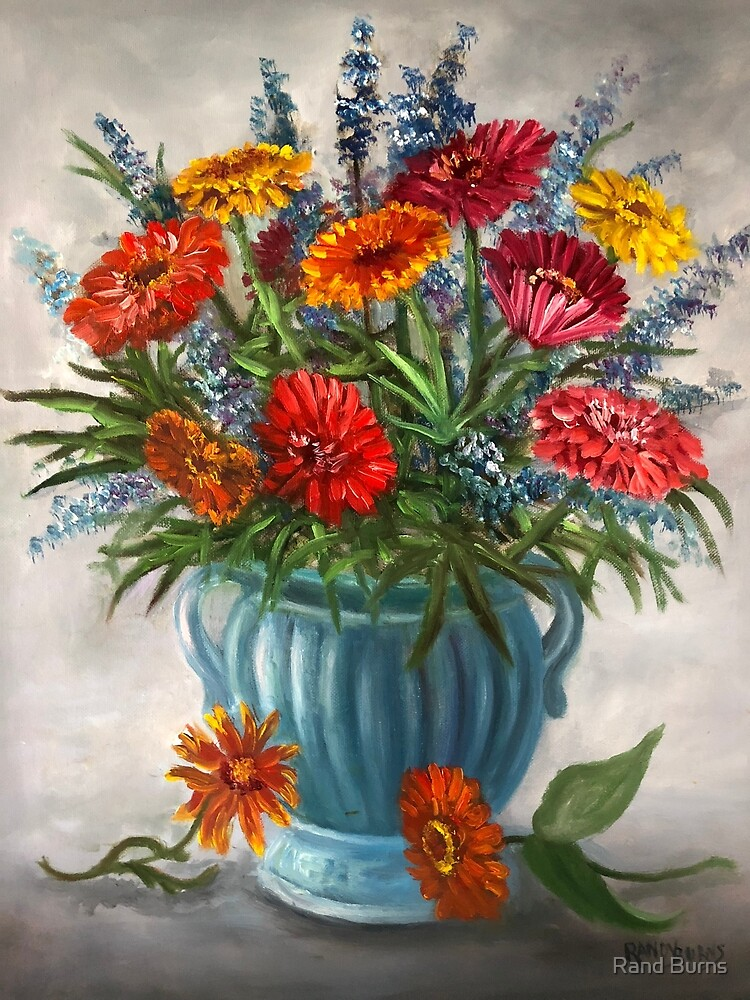 Bouquet for My Mother on Her Birthday by Randy Burns