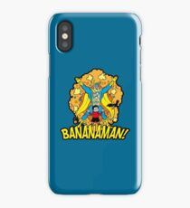 Bananaman - variant 2 iPhone Case/Skin