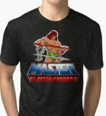 Master of Parts Unknown Tri-blend T-Shirt