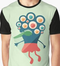 Embarrassed Monster Graphic T-Shirt