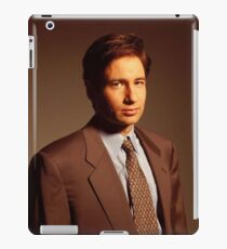 Mulder X-files iPad Case/Skin