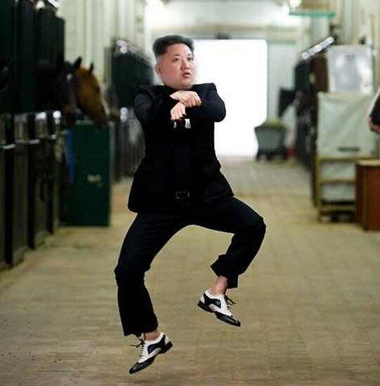 """North Korea Dictator Kim Jong Un Dancing to Gangnam Style"