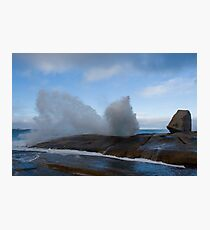 Bicheno Blowhole Photographic Print