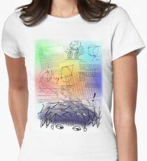 Exam Time!! Tshirt Womens Fitted T-Shirt