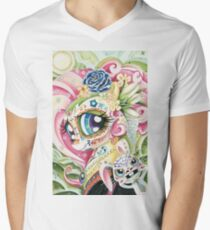 my little pony fluttershy sugar skull style painting T-Shirt