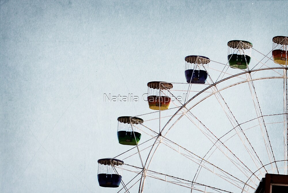 I see nothing in space as promising as the view from a ferris wheel. by Natalia Campbell