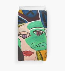 Crazy Picasso Duvet Cover