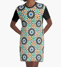 Alhambra tessellation Graphic T-Shirt Dress
