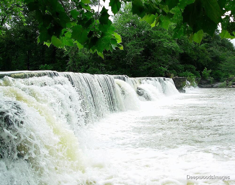 Natural Dam Arkansas by DeepwoodsImages