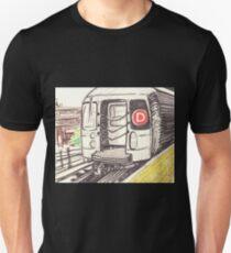 the d train Unisex T-Shirt