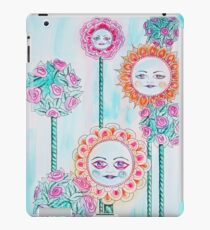 Beautiful Day - Whimsical Floral Watercolor and Ink iPad Case/Skin