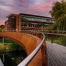 Jarrold Bridge at Twilight by Ruski