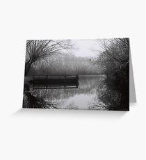 South Esk River, Perth Greeting Card