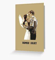 Romeo + Juliet Greeting Card