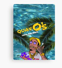 Quavo's Cereal Beach Blue Canvas Print