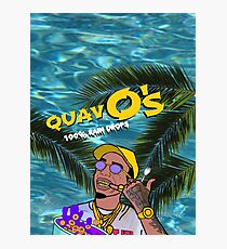 Quavo's Cereal Beach Blue Photographic Print