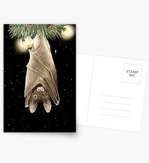 African Christmas: Bat Postcards