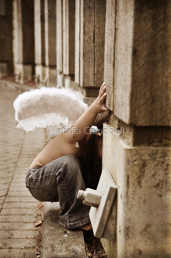 Angels are the gatekeepers to the soul by Natalia Campbell