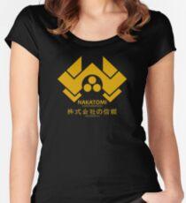 Nakatomi Women's Fitted Scoop T-Shirt
