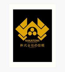 Nakatomi Art Print