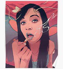 Moth Queen Poster