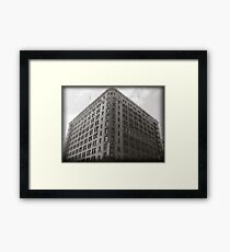 Building from the Past Framed Print