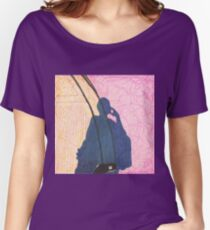 shadow selfie and busted sneaker Women's Relaxed Fit T-Shirt