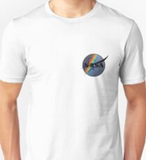 Rainbow Nasa Unisex T-Shirt