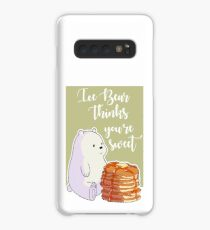 Ice Bear Thinks You're Sweet Case/Skin for Samsung Galaxy
