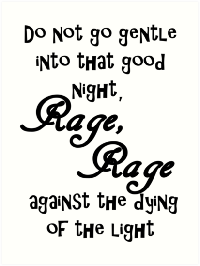 rage against the dying of the light tiffany lien - 413×549