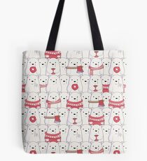 Ice Bear's sweater weather Tote Bag