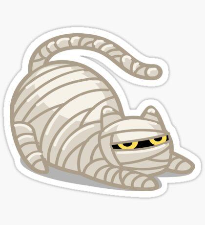 The Mummy Cat! Sticker