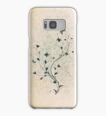 Floral vintage [mixed] Samsung Galaxy Case/Skin