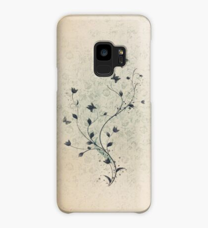 Floral vintage [mixed] Case/Skin for Samsung Galaxy