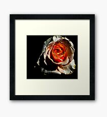 A Heart of Passion Framed Print
