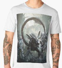 alien versus predator versus marines Men's Premium T-Shirt