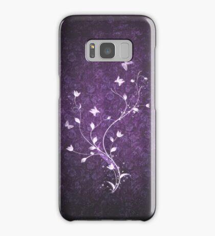 Floral vintage [violet] Samsung Galaxy Case/Skin