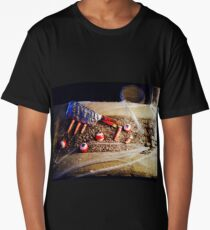 Pieces and Bits Long T-Shirt