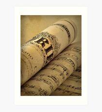 Grieg Piano Concerto Art Print