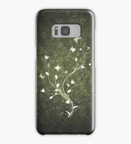 Floral vintage [green] Samsung Galaxy Case/Skin